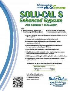 Solu-Cal S brochure